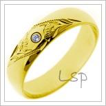 Snubní prsteny LSP 1164