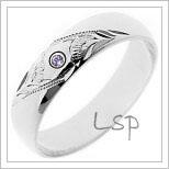 Snubní prsteny LSP 1164b