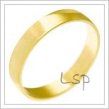 Snubní prsteny LSP 1180 žluté zlato