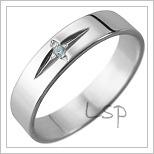 Snubní prsteny LSP 1186