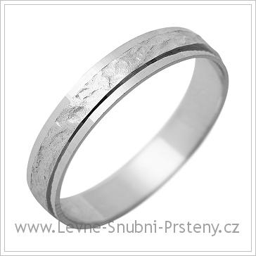 Snubní prsteny LSP 1188 bílé zlato
