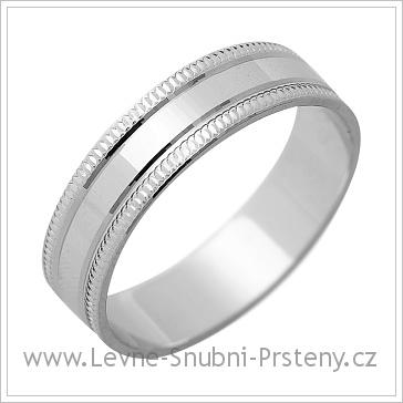Snubní prsteny LSP 1205 bílé zlato