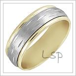 Snubní prsteny LSP 1207