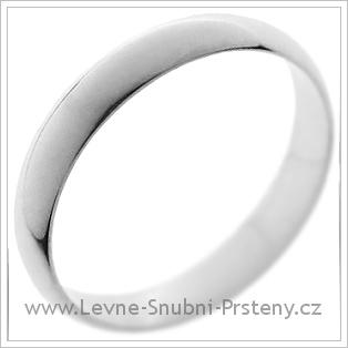 Snubní prsteny LSP 1210 bílé zlato