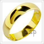 Snubní prsteny LSP 1213 žluté zlato
