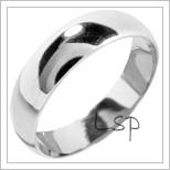 Snubní prsteny LSP 1217 bílé zlato