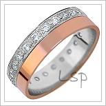 Snubní prsteny se zirkony LSP 1222z