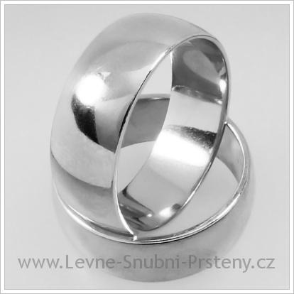 Snubní prsteny LSP 1225 bílé zlato