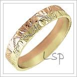 Snubní prsteny LSP 1226