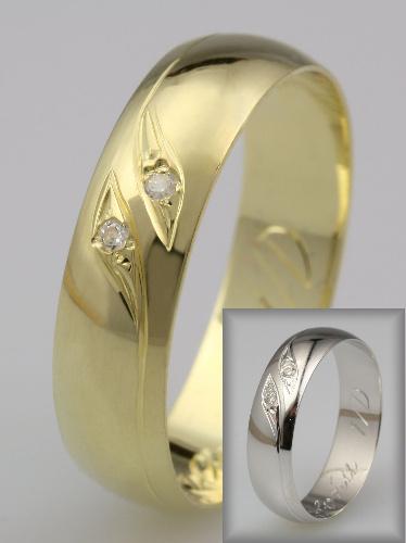Snubní prsteny LSP 1233