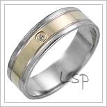 Snubní prsteny LSP 1237