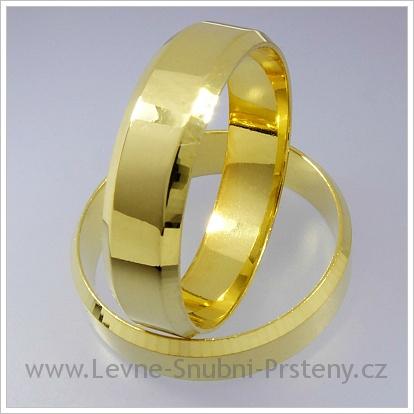 Snubní prsteny LSP 1241 žluté zlato