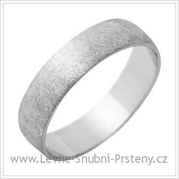 Snubní prsteny LSP 1245 bílé zlato