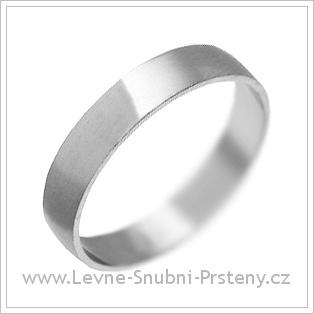 Snubní prsteny LSP 1246 bílé zlato