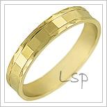 Snubní prsteny LSP 1247