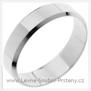 Snubní prsteny LSP 1249 bílé zlato