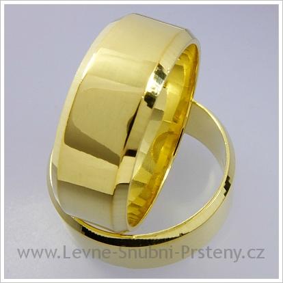 Snubní prsteny LSP 1250 žluté zlato