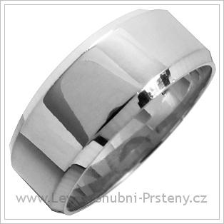 Snubní prsteny LSP 1253 bílé zlato
