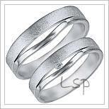 Snubní prsteny LSP 1259
