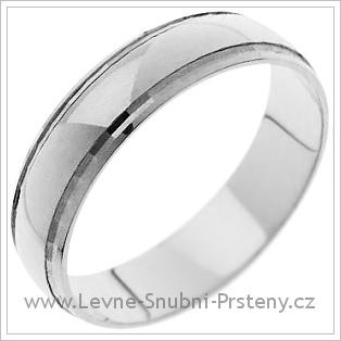 Snubní prsteny LSP 1262 bílé zlato