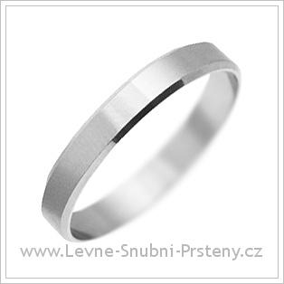 Snubní prsteny LSP 1264 bílé zlato