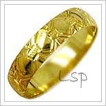 Snubní prsteny LSP 1272 žluté zlato