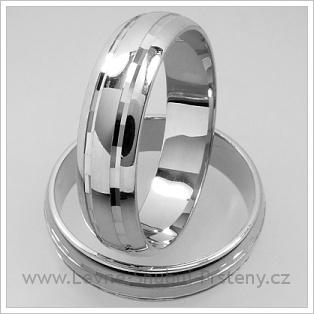 Snubní prsteny LSP 1278 bílé zlato