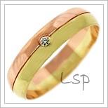 Snubní prsteny LSP 1279