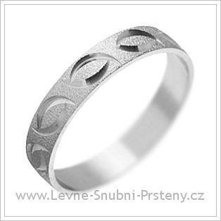 Snubní prsteny LSP 1280 bílé zlato