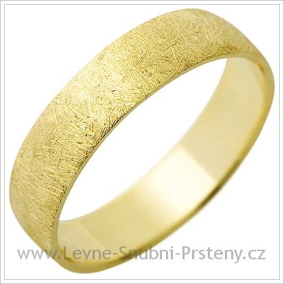 Snubní prsteny LSP 1288 žluté zlato