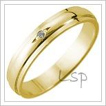 Snubní prsteny LSP 1299