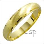 Snubní prsteny LSP 1302 žluté zlato