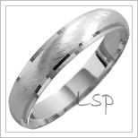 Snubní prsteny LSP 1305 bílé zlato