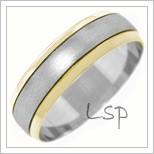 Snubní prsteny LSP 1308