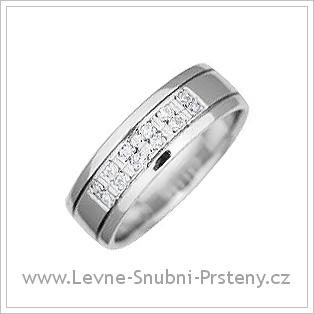 Snubní prsteny LSP 1337 bílé zlato