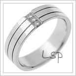 Snubní prsteny LSP 1366
