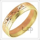 Snubní prsteny LSP 1375