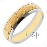 Snubní prsteny LSP 1385