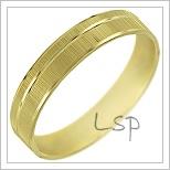 Snubní prsteny LSP 1392