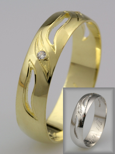 Snubní prsteny LSP 1404