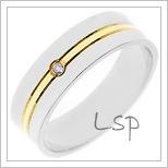 Snubní prsteny LSP 1406