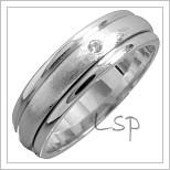 Snubní prsteny LSP 1410 bílé zlato