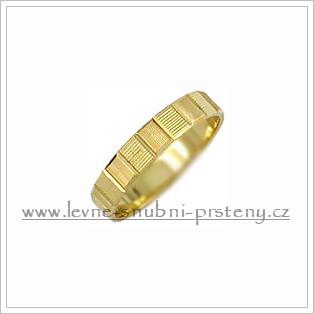 Snubní prsteny LSP 1416 žluté zlato