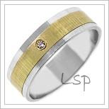 Snubní prsteny LSP 1419