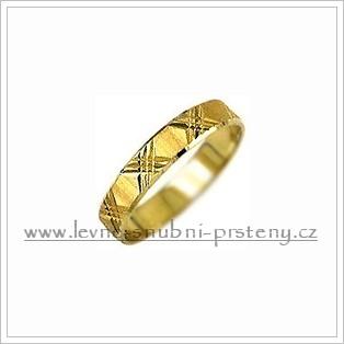 Snubní prsteny LSP 1422 žluté zlato