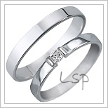 Snubní prsteny LSP 1427
