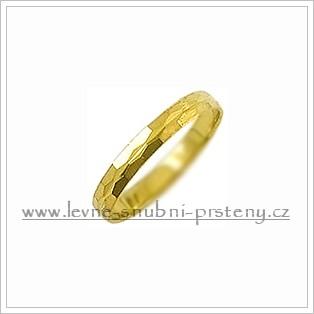 Snubní prsteny LSP 1446 žluté zlato