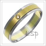 Snubní prsteny LSP 1454