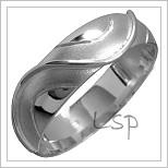 Snubní prsteny LSP 1461 bílé zlato