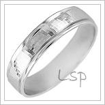 Snubní prsteny LSP 1469b